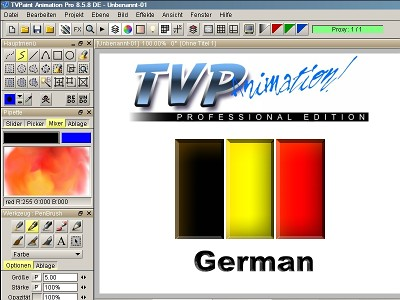 TVP Animation in German