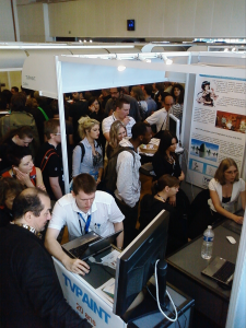 The crowd in the TVPaint booth - Annecy 2011