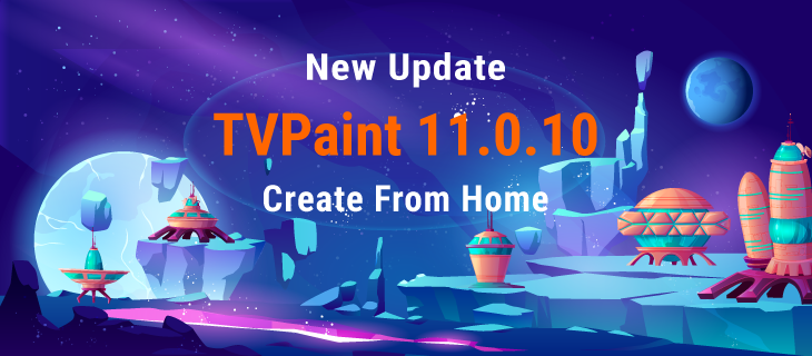 TVPaint Animation 11.0.10 is available!
