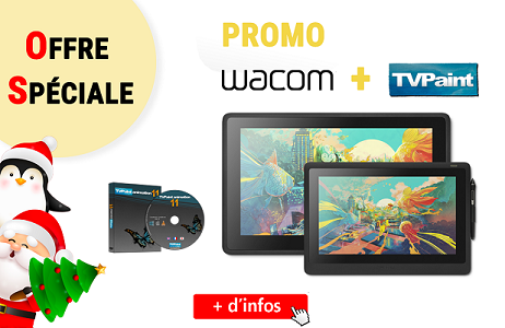 Click here to have more informations on the Wacom + TVPaint special offer!