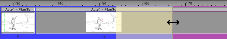 Edit your animatic's duration with a simple click