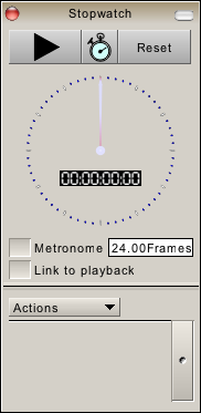 Stopwatch with an Audible Metronome