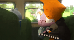 """The Dam Keeper"", an animated short-film from Robert Kondo and Dice Tsutsumi (Pixar Animation Studios artists). TVPaint Animation was used for pencil animation only, not for colouring process."
